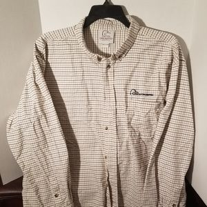 Ducks Unlimited mens long sleeve button down shirt